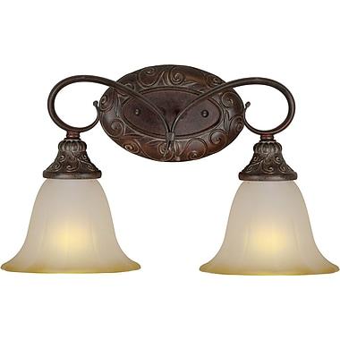 Forte Lighting 2-Light Vanity Light