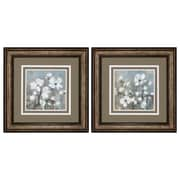Propac Images Sweetbay Magnolia 2 Piece Framed Painting Print Set
