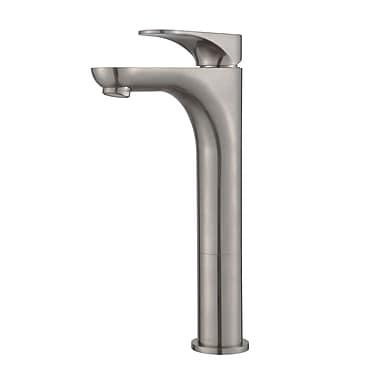 Kraus Aquila Single Hole Single Handle Bathroom Faucet; Brushed Nickel