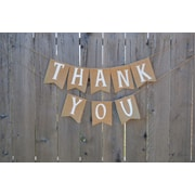 Rustic Chic Boutique Thank You Banner