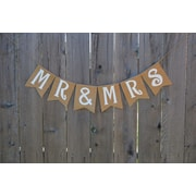 Rustic Chic Boutique Mr & Mrs Banner