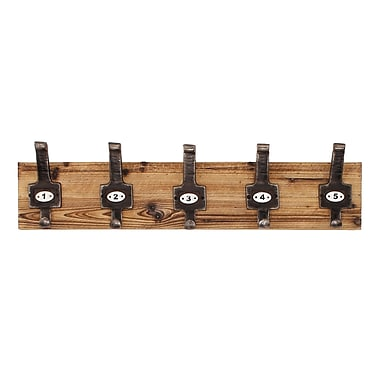 Propac Images Vintage Wall Mounted Coat Rack