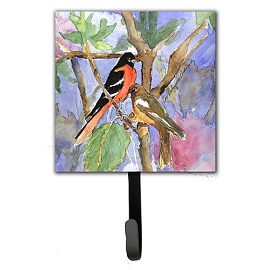 Caroline's Treasures Baltimore Oriole Leash Holder and Wall Hook