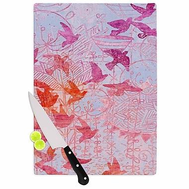 KESS InHouse Bird's Dream Cutting Board; 11.5'' W x 8.25'' D