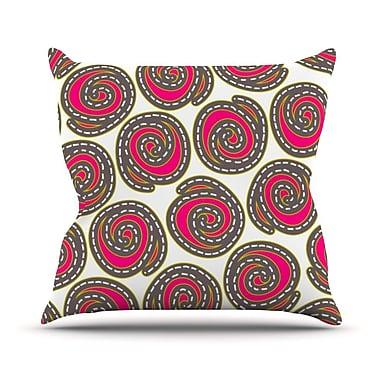 KESS InHouse Bohemian IV Throw Pillow; 16'' H x 16'' W