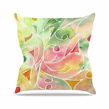 KESS InHouse Gift Wrap Throw Pillow; 18'' H x 18'' W