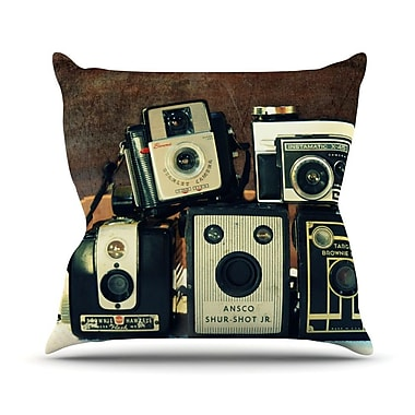 KESS InHouse Through the Years Throw Pillow; 26'' H x 26'' W