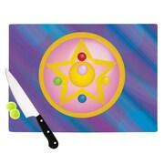 KESS InHouse Moon Cutting Board; 15.75'' W x 11.5'' D