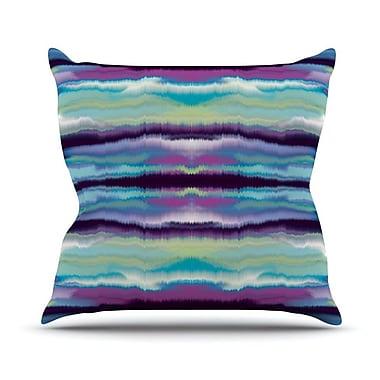 KESS InHouse Artik Stripe Throw Pillow; 26'' H x 26'' W