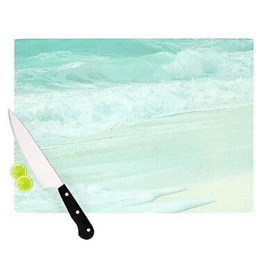 KESS InHouse Paradise Beach Cutting Board; 11.5'' W x 8.25'' D