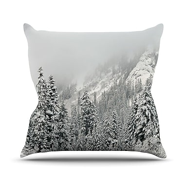 KESS InHouse Winter Wonderland Throw Pillow; 26'' H x 26'' W