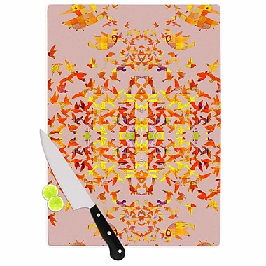 KESS InHouse Flying Birds Cutting Board; 15.75'' W x 11.5'' D