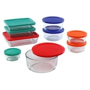 Pyrex Simply Store 18-Piece Food Storage Set