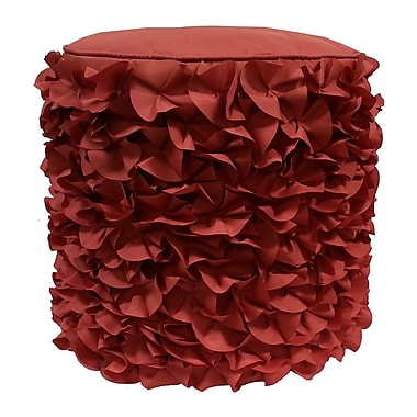 Edie Inc. Pouf; Terracotta