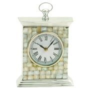 UMA Enterprises Aberdeen Table Clock