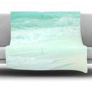 KESS InHouse Paradise Beach Fleece Throw Blanket; 60'' L x 50'' W