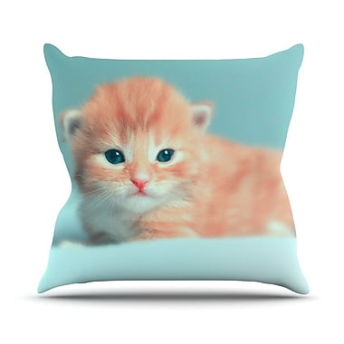 KESS InHouse Dreamcat Throw Pillow; 16'' H x 16'' W