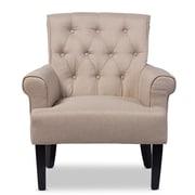 Wholesale Interiors Baxton Studio Armchair; Beige