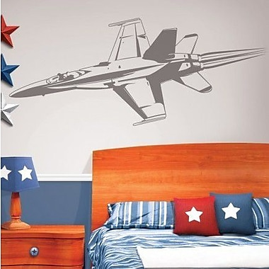 Borders Unlimited Camo Fighter Jet Sudden Shadow Wall Decal