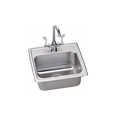 Elkay Kitchen Sink Package; Chrome