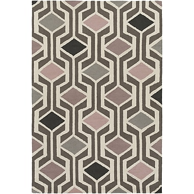 Artistic Weavers Hilda Gisele Hand-Crafted Light Pink/Mauve Area Rug; 8' x 11'