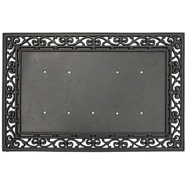 Plateau 100 % en caoutchouc pour tapis Coir Premier gift, 23,5 x 35 po, noir (GA2RM000A)