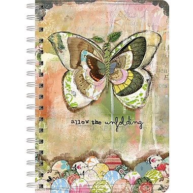 LANG (1350019) Allow The Unfolding Spiral Bound Hard Cover Journal