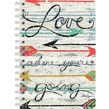 LANG (1350012) Love Where You Go Spiral Bound Hard Cover Journal