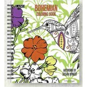 LANG (1020101) Bohemian Spiral Bound Hard Cover Colouring Book