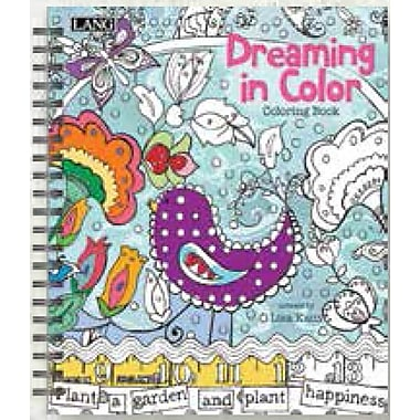 LANG (1020102) Dreaming In Colour Spiral Bound Hard Cover Colouring Book