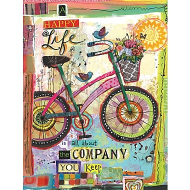 LANG (1013240) Happy Company 3 Ring Address Book