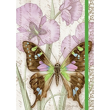 LANG (1009521) Purple Swallowtail Bound, Hard Cover Classic Journal