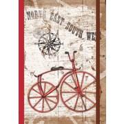 LANG - Journal relié à couverture rigide classique, vélo rétro (1009523)
