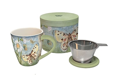 LANG Butterfly Daisy Tea Infuser Mug (2160500)