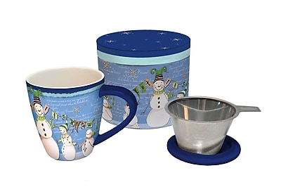 LANG Glowing Snowman Tea Infuser Mug (2160501)