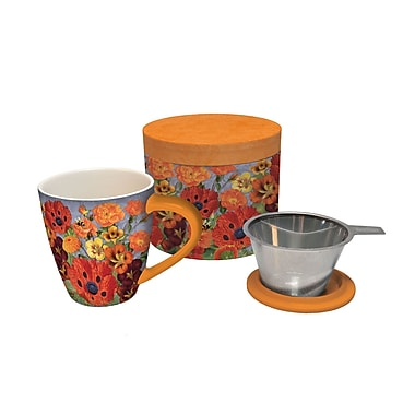 Lang – Tasse à thé à infusion de 17 oz Pretty Poppies (2160504)