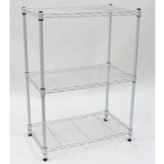 Cathay Importers 3-Tier Wire Storage Shelves, White