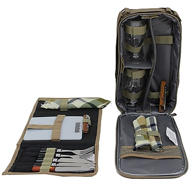Cathay Importers Picnic Wallet and Wine Pack