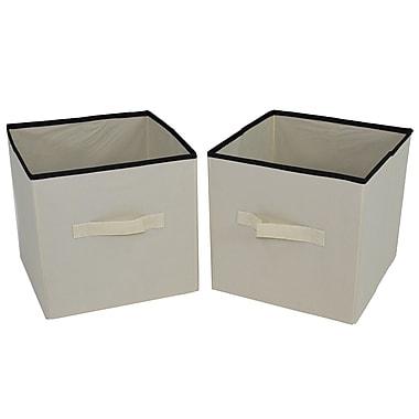 Cathay Importers Fabric Cube Storage Organizer, 11 x 115 x 11