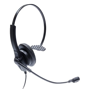 Spracht ZUMUC1 Single Ear USB Headset for Computer, UC Skype & Lync Compliant