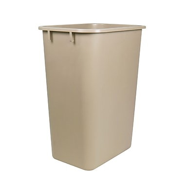 Staples® 38.5 Litre Wastebasket