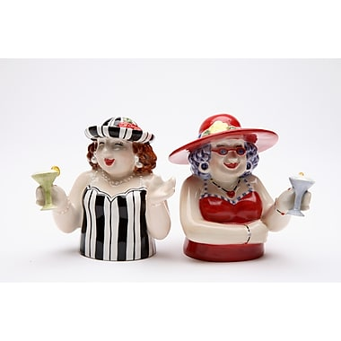 CosmosGifts Sophisticated Ladies Salt and Pepper Set