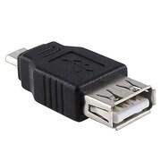 Insten USB 2.0 Female to Male USB Adapter, Black
