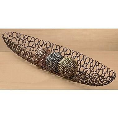 Kindwer Iron Oval Basket