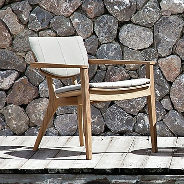 OASIQ Diuna Outdoor Lounge Chair Cushion; Lanten Slate