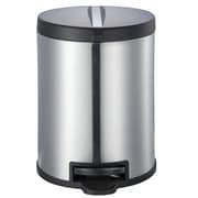 JoyWare Metal 1.32 Gallon Step On Trash Can
