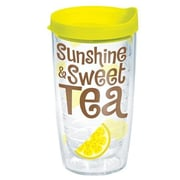 Tervis Tumbler Eat Drink Be Merry Sunshine Sweet Tea Tumbler w/ Lid; 16 oz.