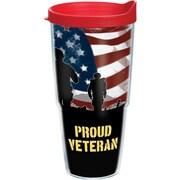 Tervis Tumbler Patriotic Proud Veteran Wrap Tumbler w/ Lid; 24 oz.