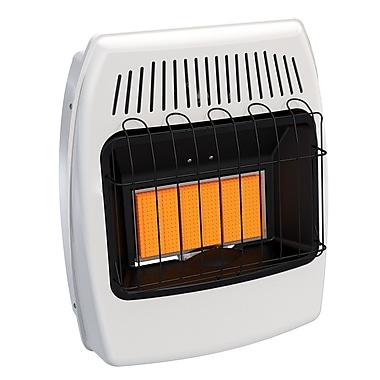 Dyna-Glo 18,000 BTU Wall Mounted Single Fuel Manual Vent-Free Heater