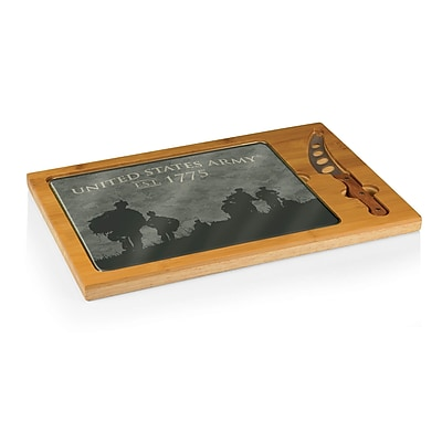 Picnic Time Army Icon Soldier Silhouettes Cutting Board WYF078278274706